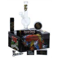 Üveg bong készlet fém dobozba ¤ Dragon Bong Set