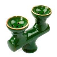 Mixer 2 kerámia dohánytartó ¤ Világos zöld