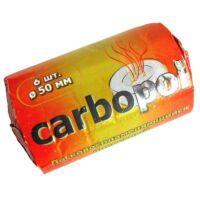 Faszén ¤ Carbopol ¤ 50mm ¤ 6db/cs