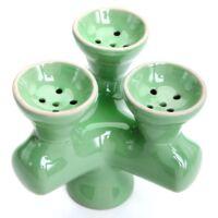 Mixer 3 kerámia dohánytartó ¤ Világos zöld
