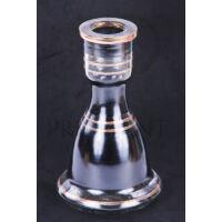 Üveg víztartály ¤ 18cm ¤ Fekete