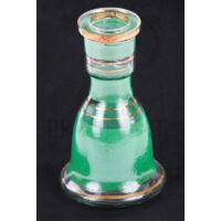Üveg víztartály ¤ 18cm ¤ Zöld ¤ Sima