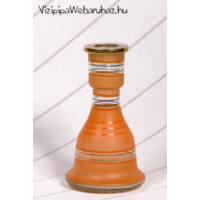 Üveg víztartály ¤ 22cm ¤ Narancssárga