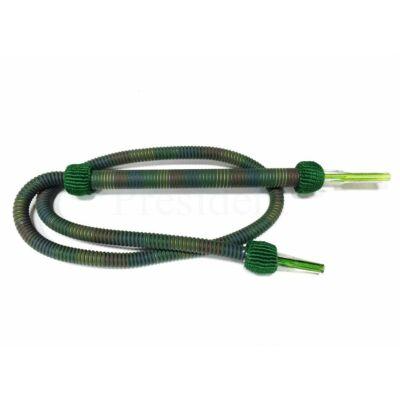 President mosható cső ¤ 170cm ¤ Sötét zöld szivárványos