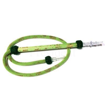 TM mosható cső ¤ 185cm ¤ Világos zöld mintás