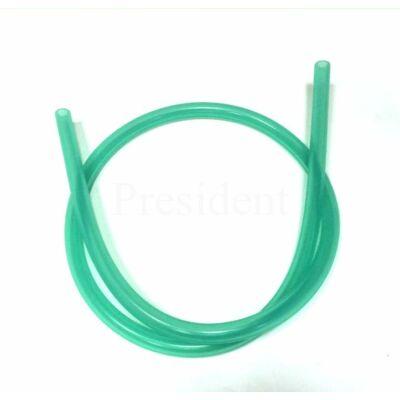 Szilikon cső ¤ Zöld átlátszó