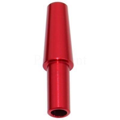 Konnector szilikon csőhöz ¤ Piros
