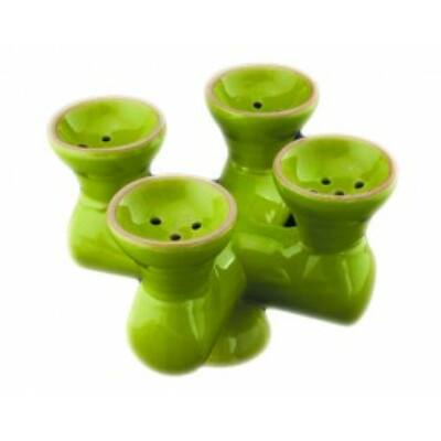 Mixer 4 kerámia dohánytartó ¤ Világos zöld