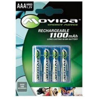 Movida AAA Tölthető elem ¤ 1100mAh ( HR03 1,2V)