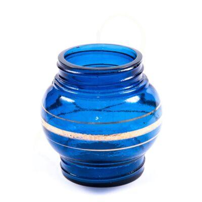 Forgó pipa víztartály ¤ Kék ¤ 15,5/10,5cm