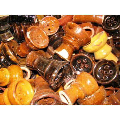 Szépséghibás termék ¤ Egyiptomi kerámia dohánytartó