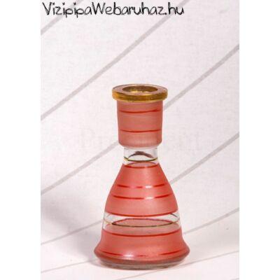 Üveg víztartály ¤ 15cm ¤ Piros
