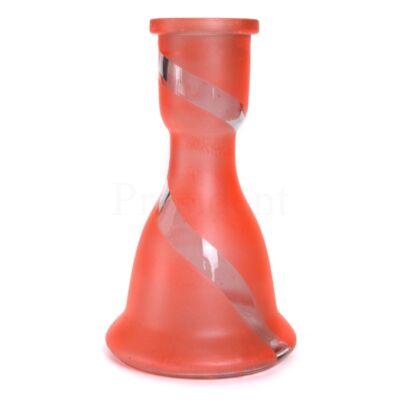 Üveg víztartály ¤ 22cm ¤ Narancssárga ¤ Csikos