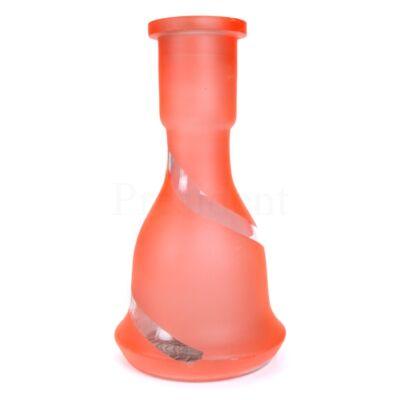 Üveg víztartály ¤ 26cm ¤ Narancssárga ¤ Csikos