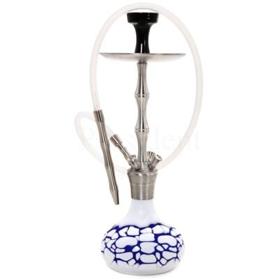 Dud Shisha ¤ Scales ¤ Kék ¤ 64cm ¤ Phunnel & Szilikon cső & LED & Diffúzor