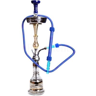 Dud Shisha ¤ Arany/Kék Indian style ¤ 80cm ¤ Phunnel