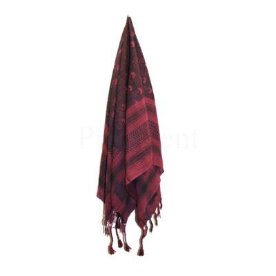Arab kendő ¤ Bordó ¤ Koponyás