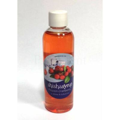 Shishasyrup ¤ Frozen cranberry ¤ 100ml