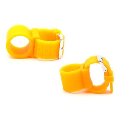Szilikon csőtartó ¤ Narancssárga
