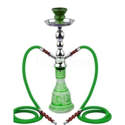 Junior Hookah ¤ Arab mintás 48cm ¤ Zöld ¤ 2személyes