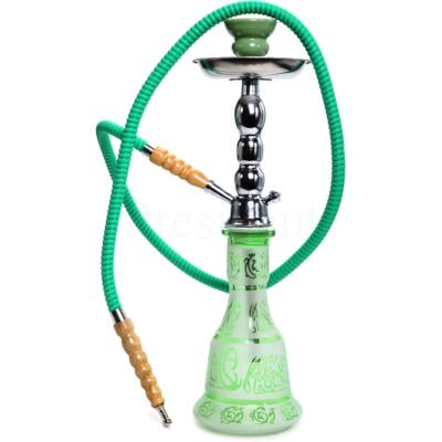 Junior Hookah ¤ Arab mintás 48cm ¤ Zöld ¤ 1személyes