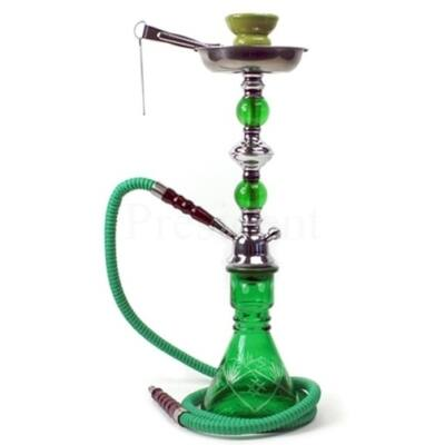 Junior Hookah ¤ Crystal 47cm ¤ Zöld