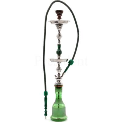 Mustafa vizipipa ¤ 30-as modell ¤ Dupla tálcás ¤ Sötét zöld