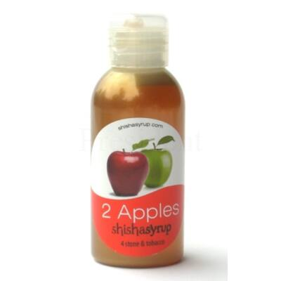 Shishasyrup ¤ 2 apples ¤ 100ml