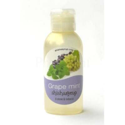 Shishasyrup ¤ Grape mint ¤ 100ml
