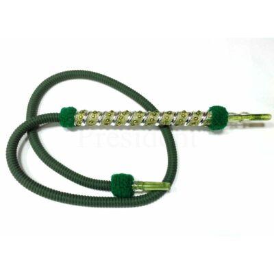 President mosható cső ¤ 170cm ¤ Zöld díszes markolatú