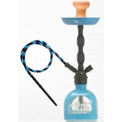 DUD Shisha ¤ Totem ¤ 48cm ¤ Kék ¤ Szilikon cső