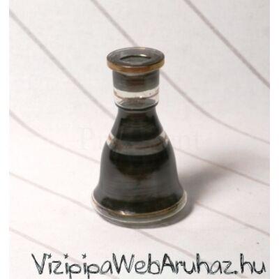 Üveg víztartály ¤ 15cm ¤ Fekete