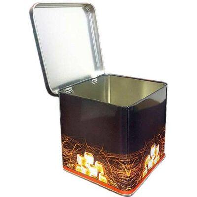 Fém széntartó doboz