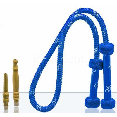 Dud mosható cső ¤ Grip ¤ Kék ¤ Kivehető fa végekkel ¤ 1,8 méter