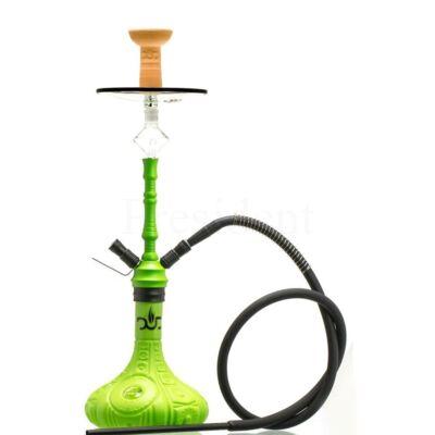 Dud Shisha ¤ Phoenix ¤ Zöld ¤ 66cm ¤ Phunnel & Szilikon cső