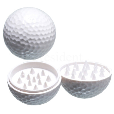 Műanyag golf labda morzsoló ¤ Fehér