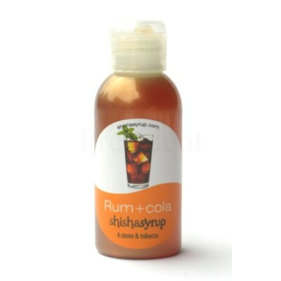 Shishasyrup ¤ Rum + cola ¤ 100ml