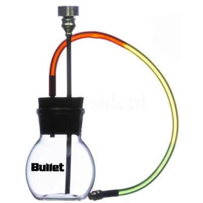 Bullet mini üveg bong ¤ 12cm