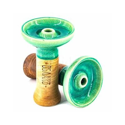 Oblako phunnel dohánytölcsér ¤ M Glazed ¤ Grass green