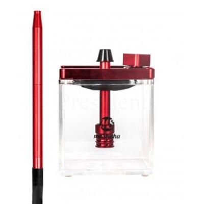 MS Micro vízipipa ¤ Piros/átlátszó