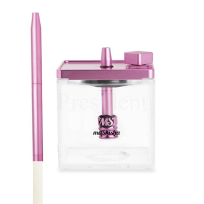 MS Micro vízipipa ¤ Rózsaszín/átlátszó