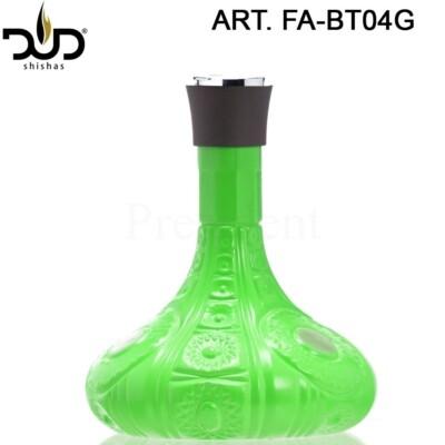 Üveg ¤ Dud Shisha ¤ Gills ¤ Zöld ¤ 31cm
